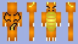 "Скин для Minecraft ""Dragonite"" дракон"