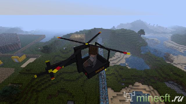 моды на вертолет на маенкравт скачать