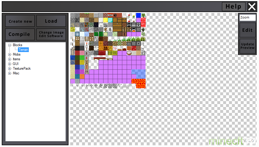 Как сделать свой текстур пак в фотошопе
