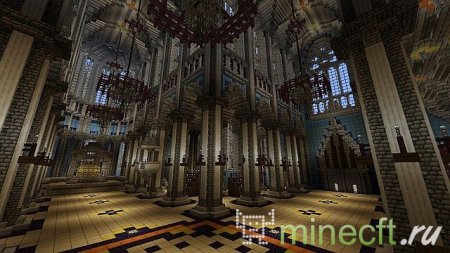"Карта для minecraft ""Cologne Cathedral"""