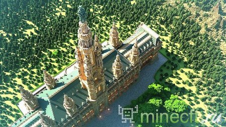 "Карта ""Courtmere Palace"" - красивый spawn"