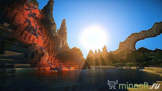 Это реалистичные HD текстуры для minecraft ...: minecft.ru/tekstury/379-reall-light-realistichnye-tekstury-dlya...