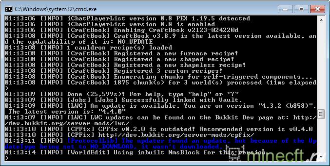 Сборка сервера от Evolution для minecraft 1.5.2 скачать ...